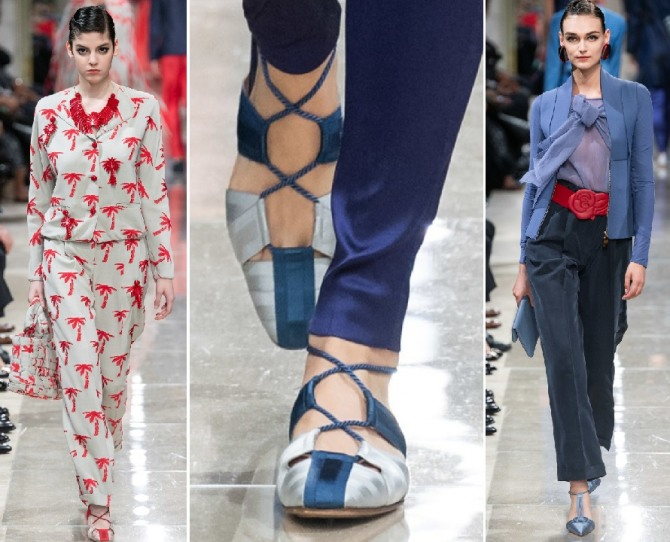 What To Wear With Elegant Ladies Lace-Up Shoes For Spring-Summer 2020?