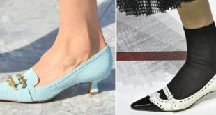 Main Trends Of Women's Shoes For Spring-Summer 2020