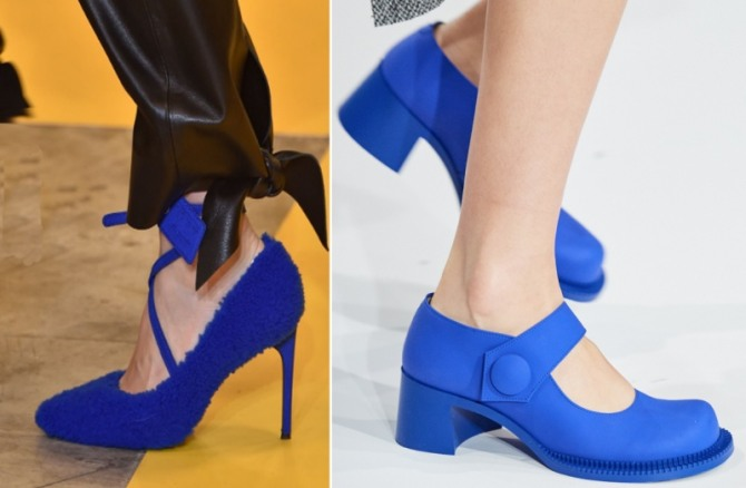 Women's Blue Shoes Fashion Trends For Spring-Summer 2020