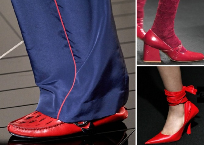 Women's Red Shoes Fashion Trends For Spring-Summer 2020