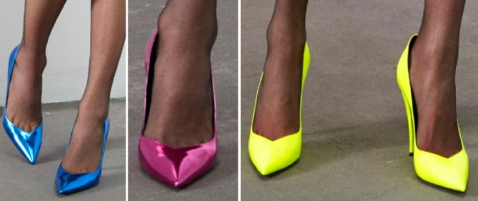 Women's Neon Shoes Fashion Trends For Spring-Summer 2020