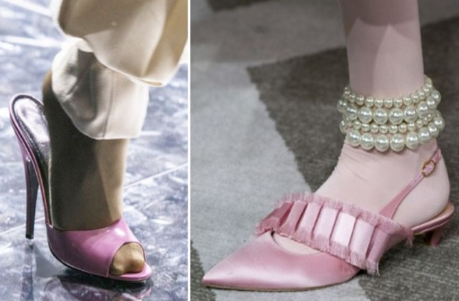 Women's Pink Shoes Fashion Trends For Spring-Summer 2020