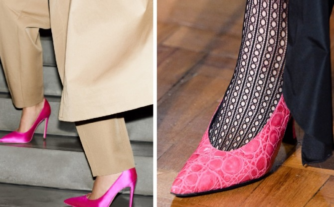 Women's Crimson Shoes Fashion Trends For Spring-Summer 2020