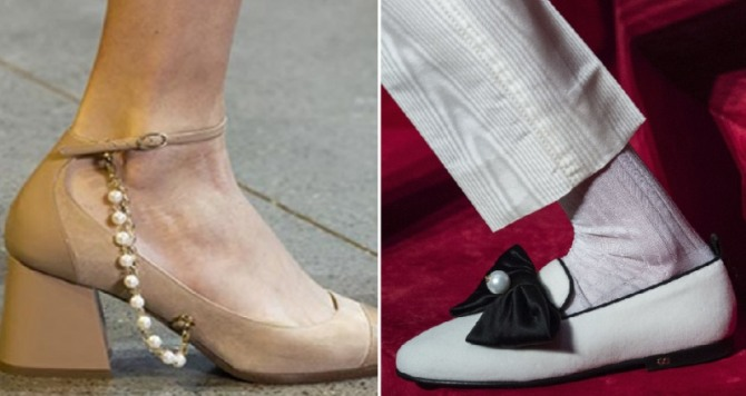 Women's Shoes Fashion Trends For Spring Summer 2020 With Pearls Decor
