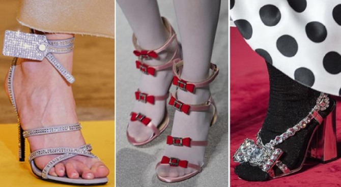 Sandals Trends For Women's Evening Shoes In Spring/Summer 2020