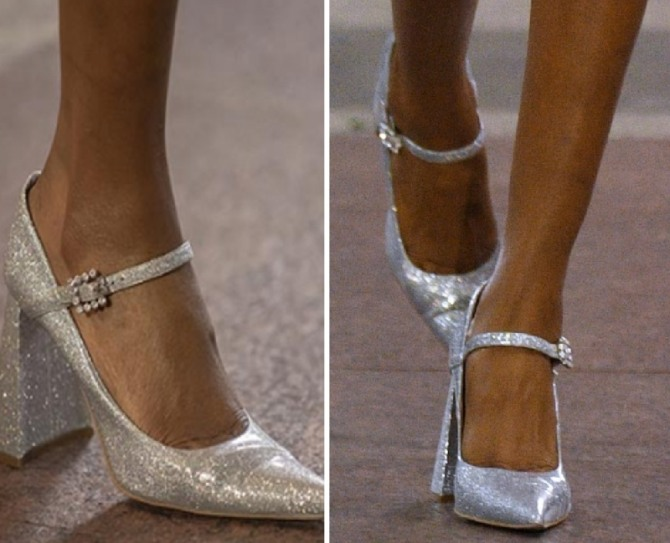 Gold and Silver Trends For Women's Evening Shoes In Spring/Summer 2020