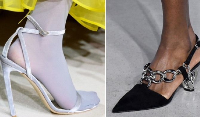 Women's Evening Shoes Fashion Trends For Spring Summer 2020